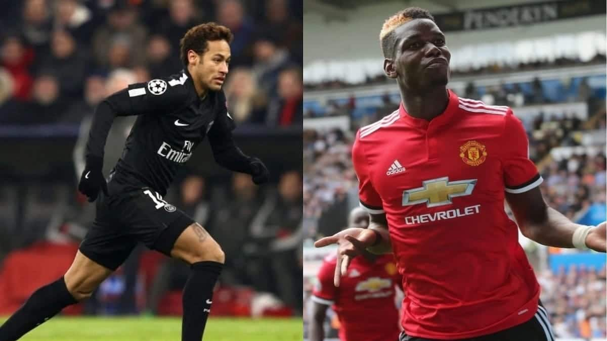 Neymar wants want-away Man United star Pogba to join him at PSG