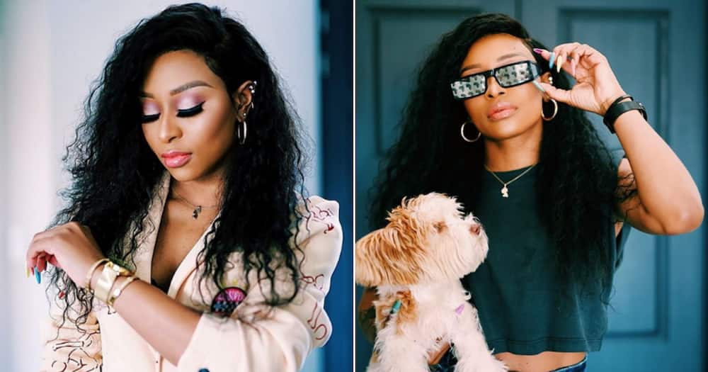 DJ Zinhle shows off cutest gift from her famous boo thang