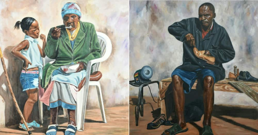Vuyisile Adoons, Artist, Everyday people, Talent, Twitter reactions