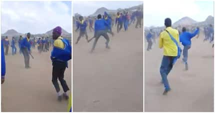 Video shows Limpopo learners engaged in street fight 'with pangas'