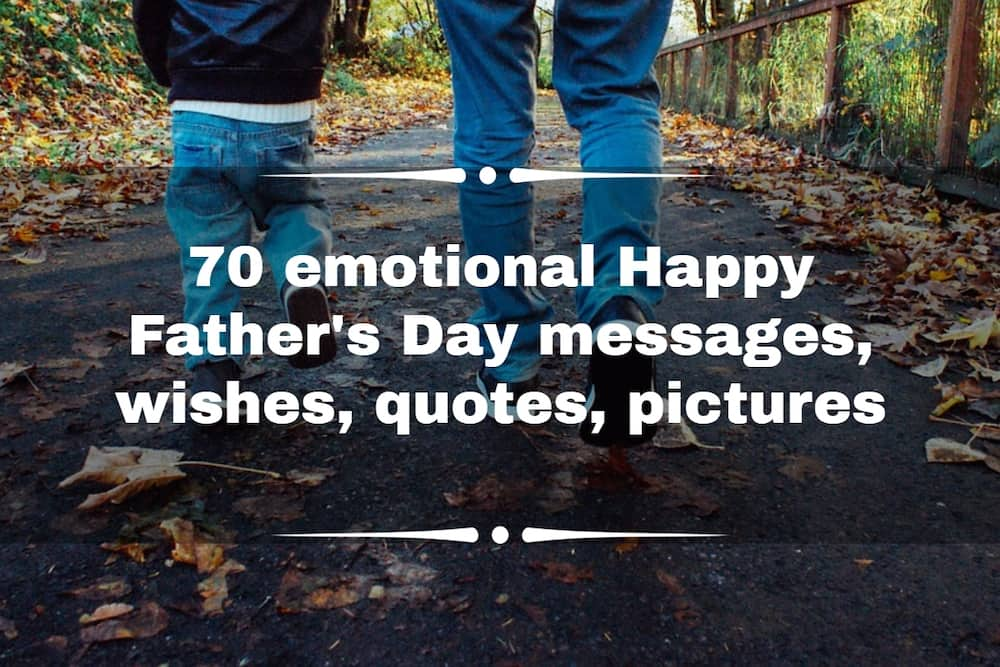 What is the best message for Father's day?