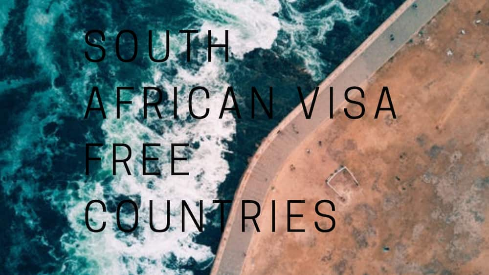 List of all visa free countries for South Africans in 2019