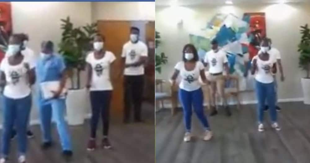 Emotional Video Shows Hospital Staff Paying Tribute to Late Co-Worker