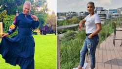 """""""My daughter chased them"""": Cute girl shoos campaigning politicians, SA laughing"""