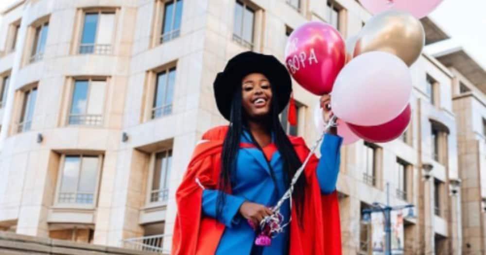 Woman, Graduation, PhD, WITS, Social media reactions