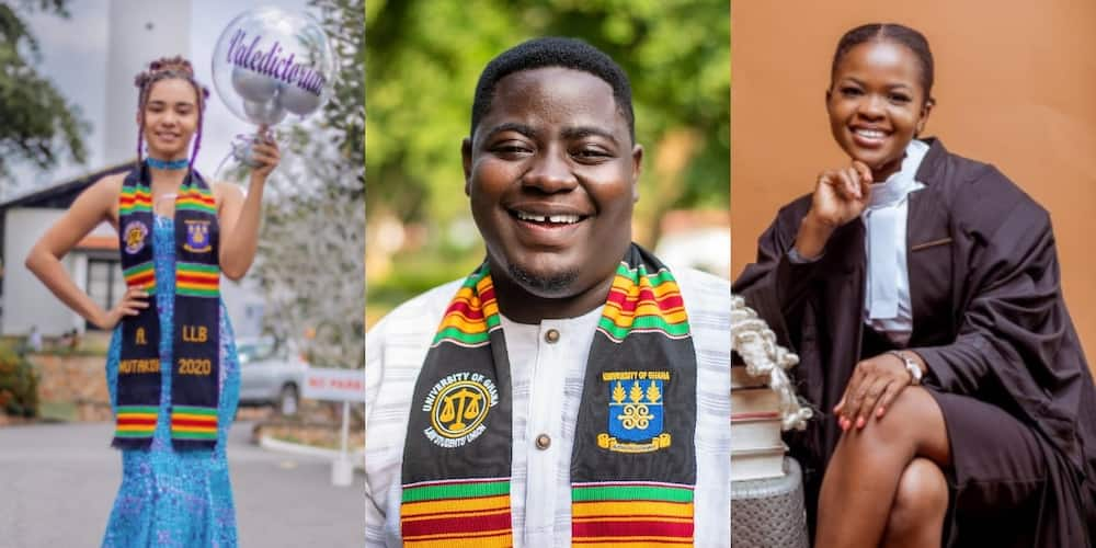 Meet the 7 students who graduated with first class Law degrees from Legon in 2020 (photos)