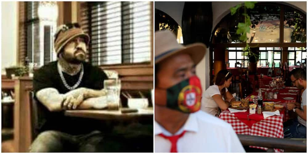 Man shows up at restaurant, sits alone for 2 hours, pays N1m for the meals of everyone that day and left