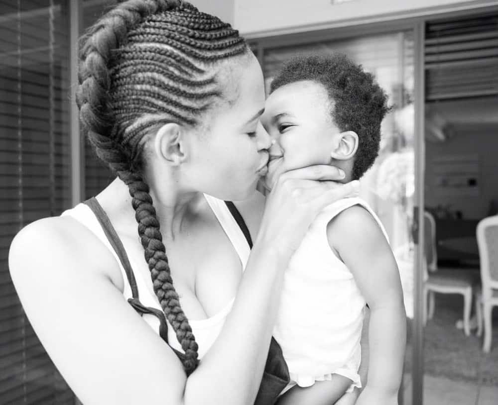 Gail Mabalane baby