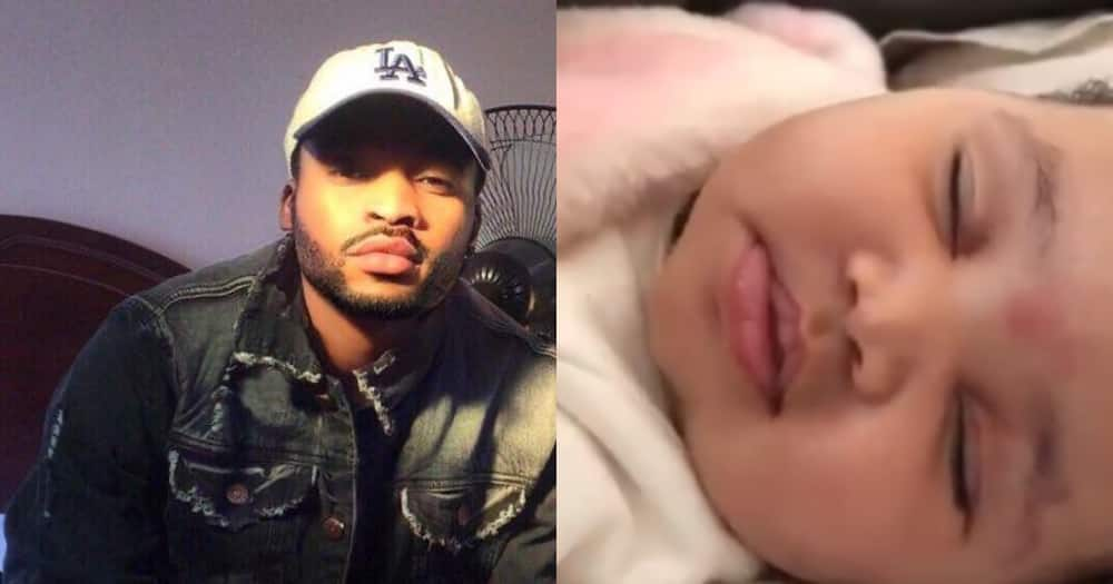 Proud Dad Shares Clip of Adorable Bundle of Joy, Leaves SA Swooning