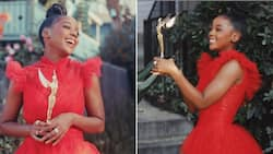 Thuso Mbedu overcome with emotion as she bags notable international award, doing Mzansi proud