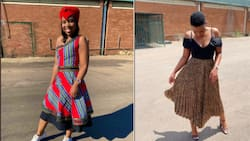 """Woman shares stunning pic, SA ready to send for the uncles: """"Ndebele Princess"""""""