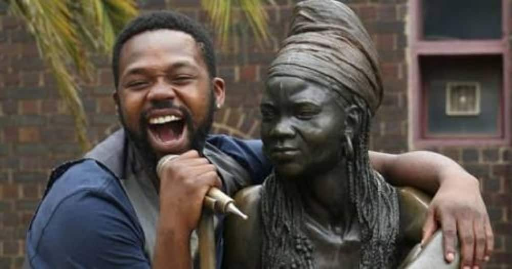 Brenda Fassie's Son Bongani Fassie Bags Own Reality Tv Show 'Finding Bongani'