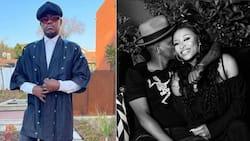 So cute: DJ Zinhle and her boo Murdah Bongz mark Asante's 1st month birthday