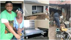 Catholic priest builds house for 90-year-old woman after she kindly gave him 6 eggs