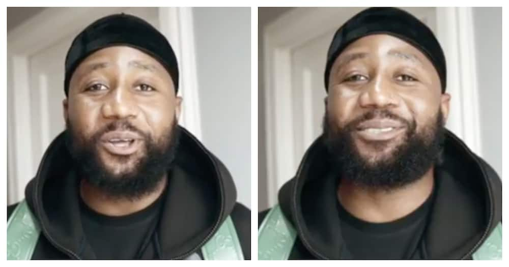 Cassper says he and Thobeka have some pregnancy symptoms in common