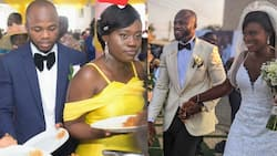 Man & lady who met as best man and maid of honour at a wedding in 2018 get married
