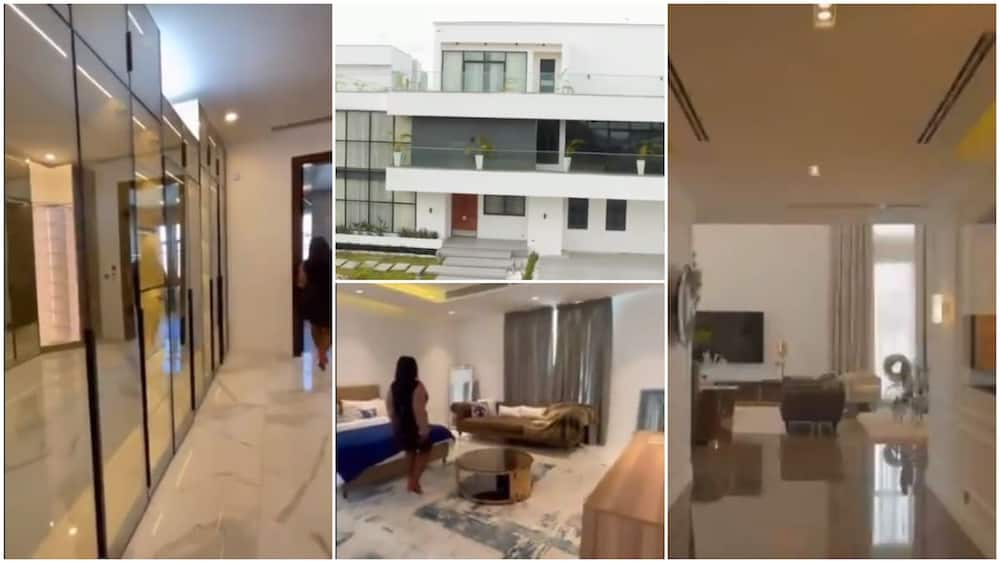 Video Shows Inside Abuja Mansion that is on Sale for N1.4bn, Nigerians React
