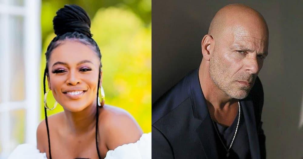 Bruce Willis, Hollywood, Nomzamo Mbatha, Entertainment, Celebrity