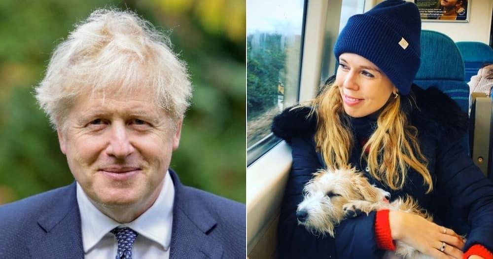 British Prime Minister Boris Johnson is set to marry his fiancée Carrie Symonds next year. Image: @BorisJohnson/@CarieSymonds/Twitter