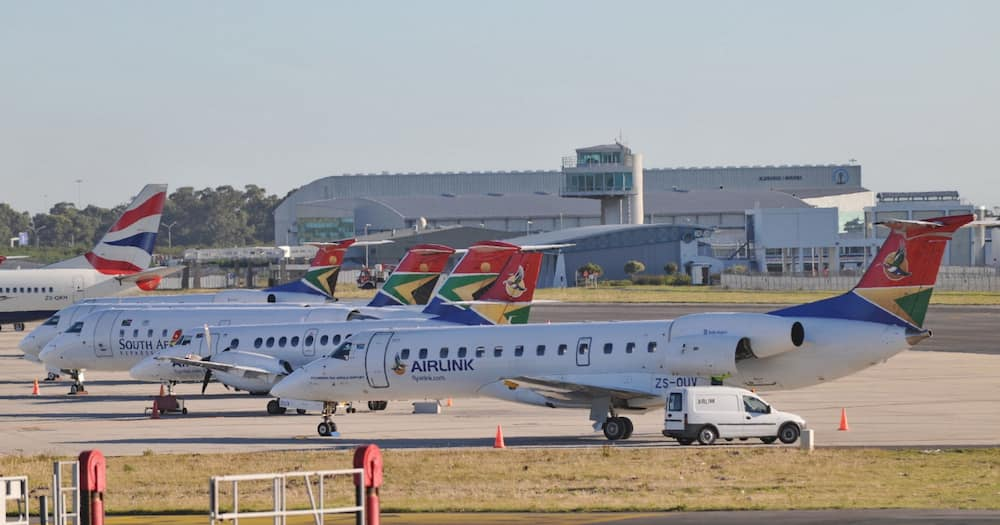 Airlink, Eswantini, Johannesburg South Africa, flights canceled