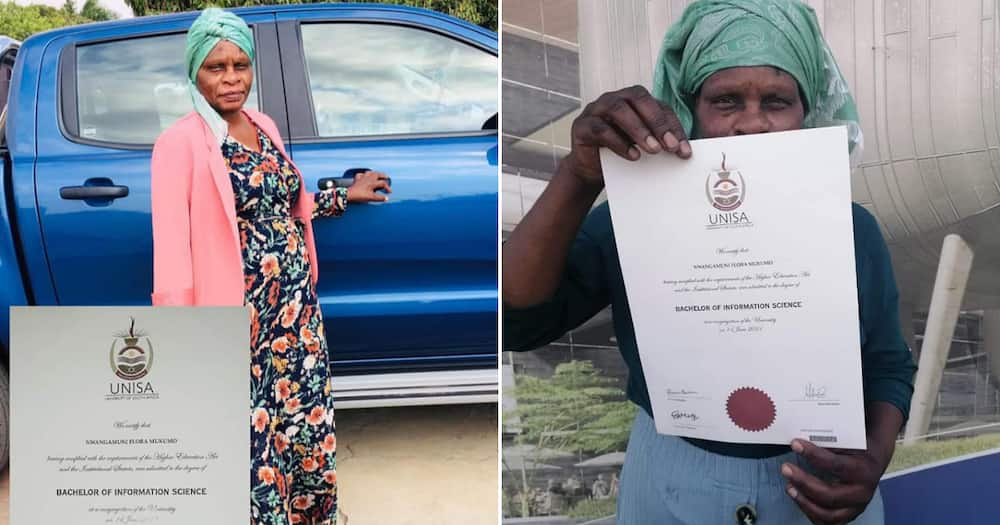Exclusive: Florah Mukumo, 64, Inspires the Nation After Bagging Degree