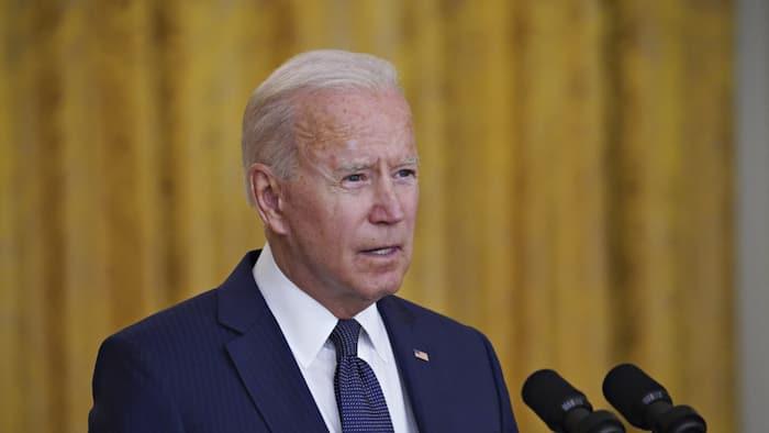 """Here I am, send me"": Biden speaks following terror attack outside Kabul airport"