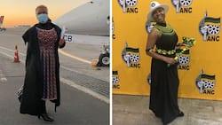 """""""Classic"""": Mzansi reacts to Lindiwe Zulu's joke about Cyril Ramaphosa's missing iPad"""