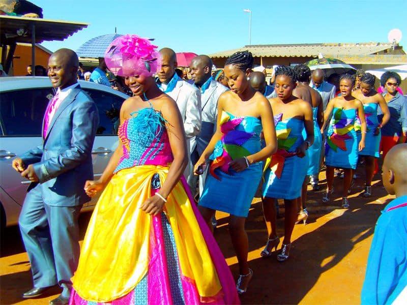 tsonga traditional wedding dresses