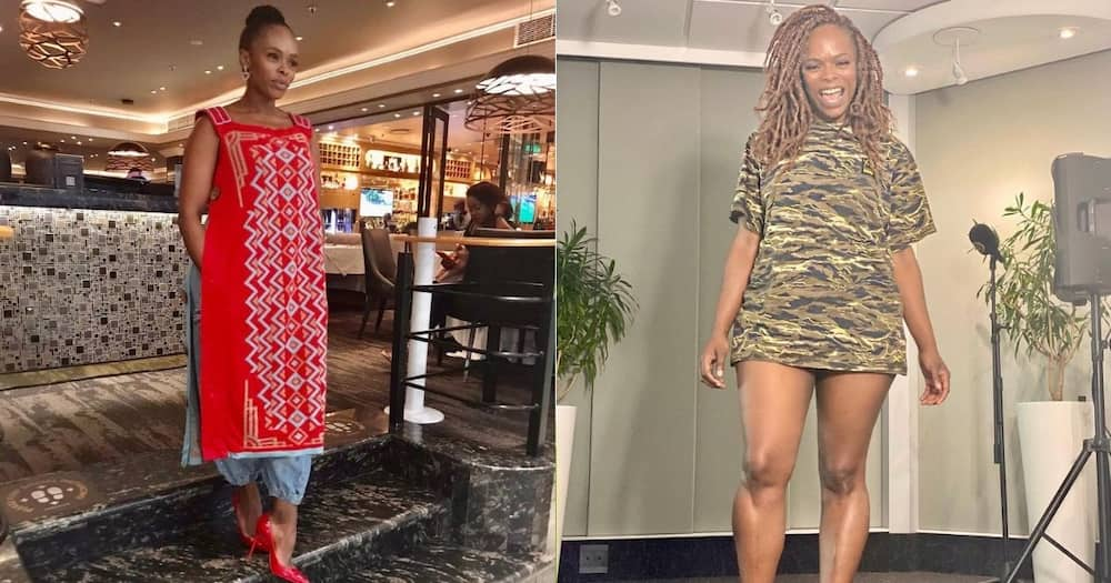 """Unathi Nkayi Gives Powerful Weight Loss Advice: """"Stop Using Products"""""""