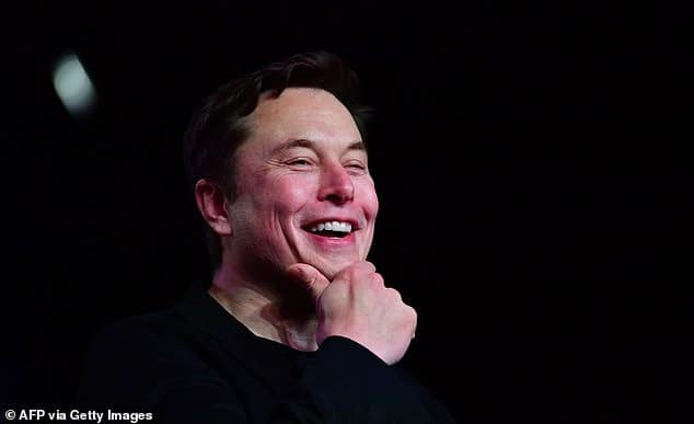 Elon Musk is now the world's fifth richest man with a net worth of $74 billion
