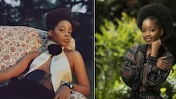 Thuso Mbedu shows off hot abs in Rihanna's lingerie piece