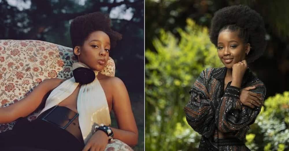 Thuso Mbedu, Rihanna, lingerie