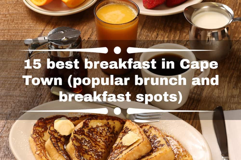 15 best breakfast in Cape Town