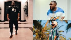 Levels: Cassper Nyovest brags about his stunning swimming pool art