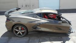 Unbelievable split: Social media reacts to R1 million car broken in half in crash