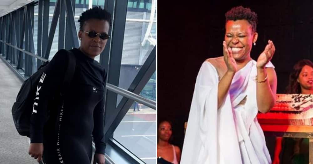 """DJ Tira's selfie goes wrong: """"Malume the nose goes inside the mask"""""""