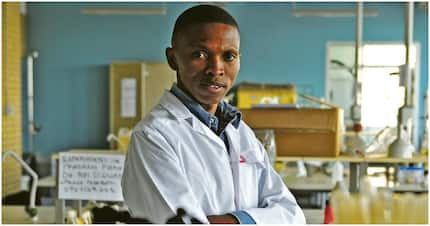 Thabang Mabapa helps farmers by producing biofuel from castor oil