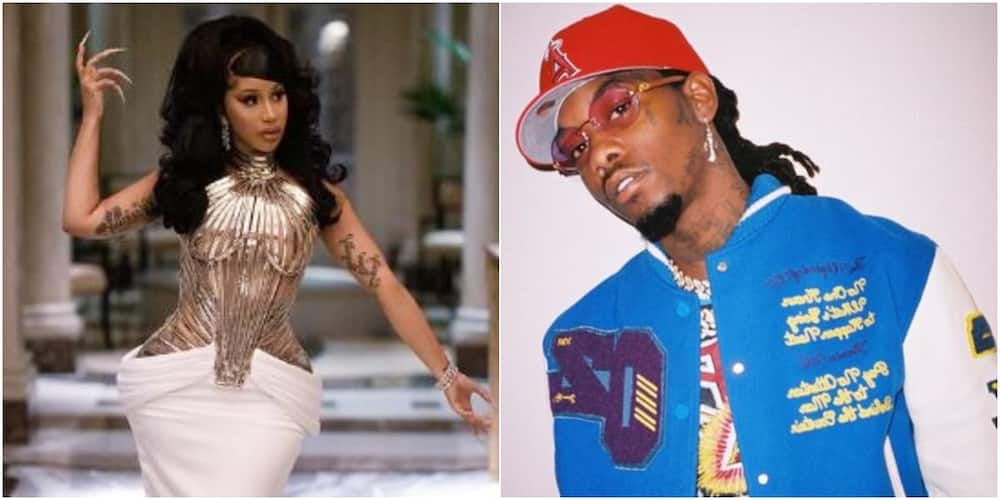 Rapper Cardi B responds to fans who think she's in mentally abusive relationship after reuniting with Offset (video)