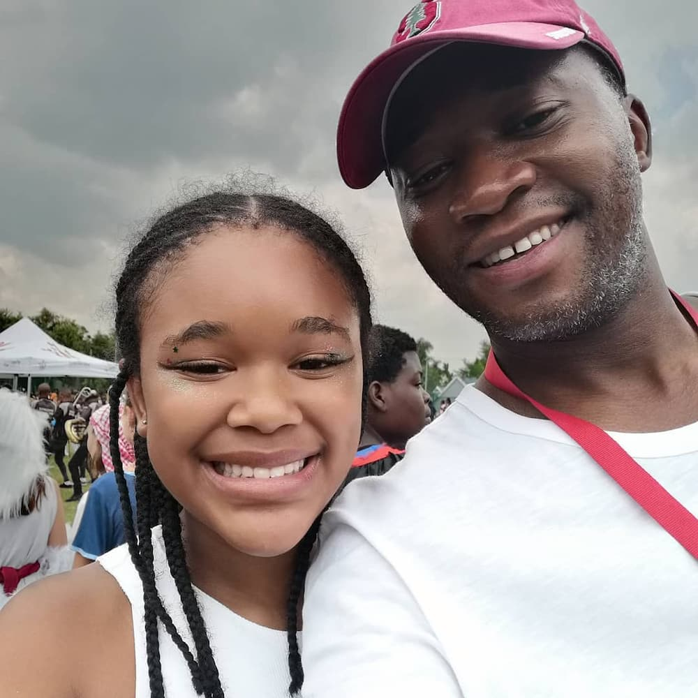 Pearl Thusi baby daddy and daughter