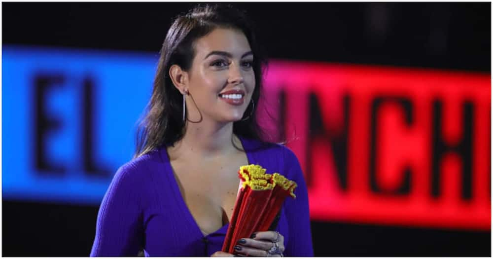 A file photo of Georgina Rodriguez during a previous event. photo: Getty Images.