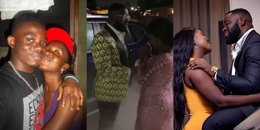 Ghanaian man who dated lady for 13 years gives fresh car on wedding day in video