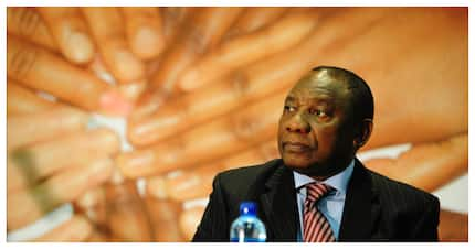 Ramaphosa has said that the government is determined to end corruption
