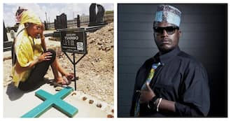 Fifi Cooper visited HHP's grave before going on stage in her hometown