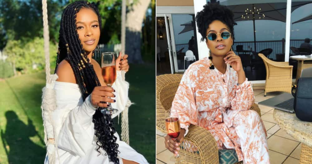 Mzansi actress Nomzamo Mbatha is set to appear on 'The Real' soon
