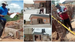 Man celebrates buying land and building house on it all within 12 months, shares photos, many react