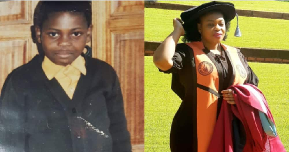 'Refuse to Count Yourself Out': Woman From Humble Beginnings Bags Her PhD