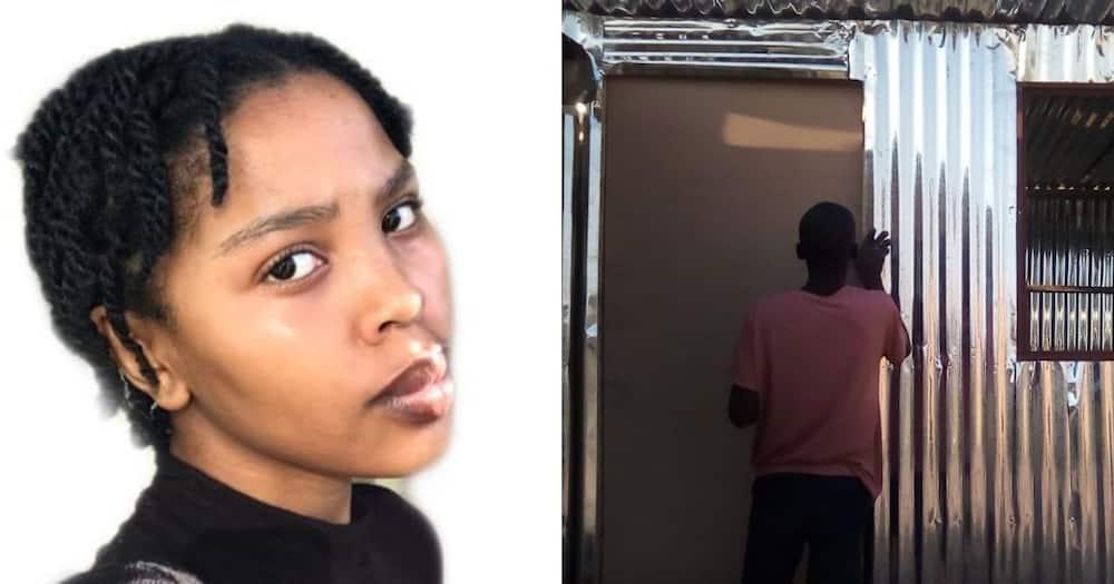 Zoe Maseko, NSFAS, rebuild, new home