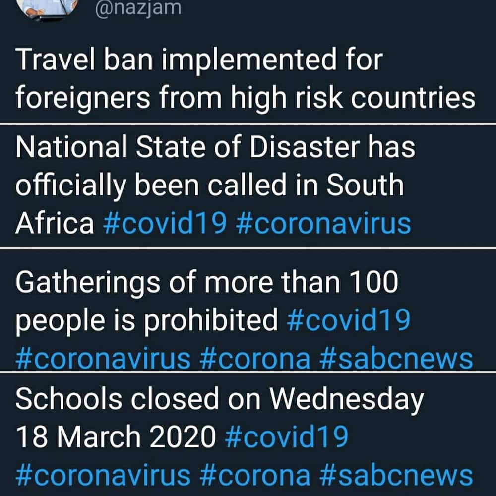 news South Africa