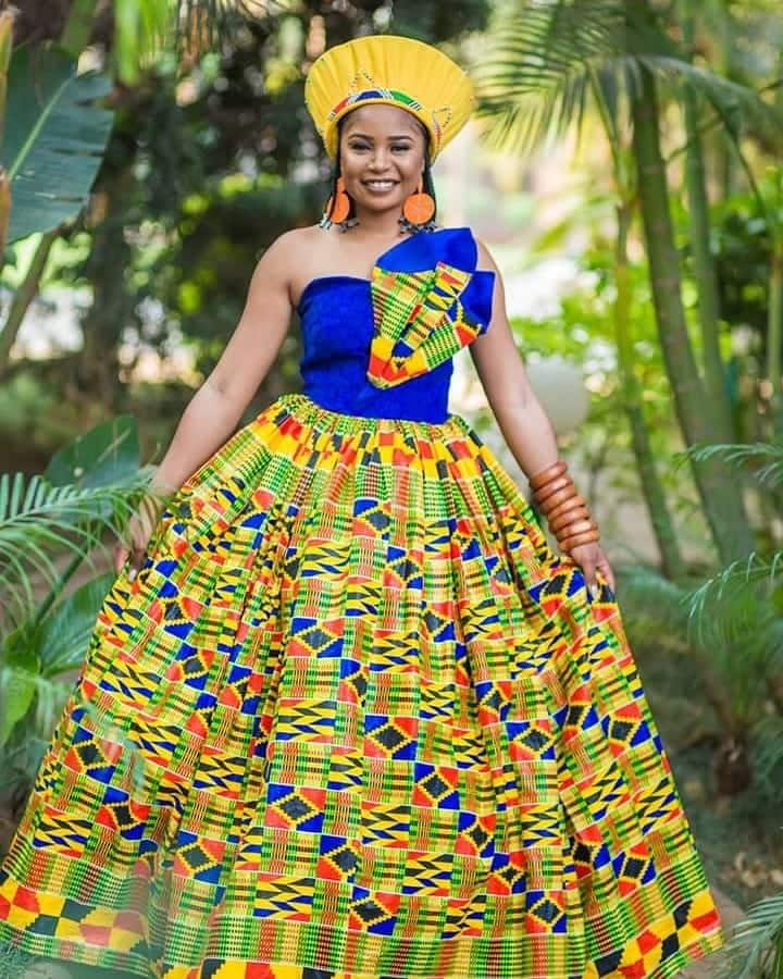 African traditional wedding dresses 2020