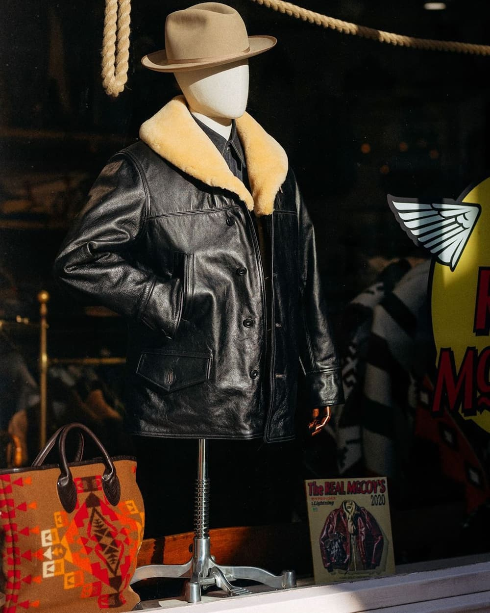 How do you care for a leather jacket?